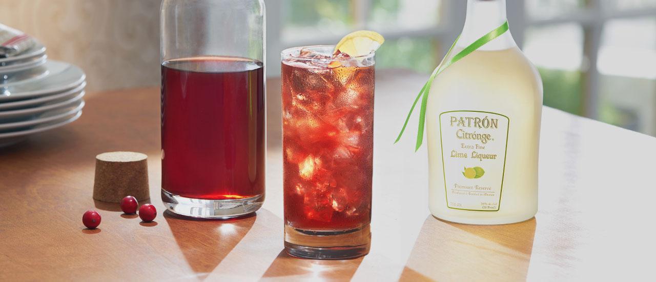 Cranberry Cooler | Patrón Tequila