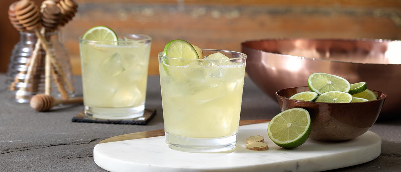 Honey Ginger Margarita Patr 243 N Tequila