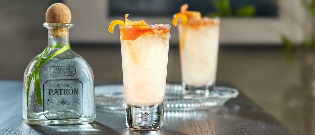 Peppered Paloma Cocktail Recipe Patr 243 N Tequila