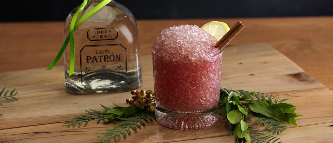 Poinsettia Smash Cocktail Recipe Patr 243 N Tequila