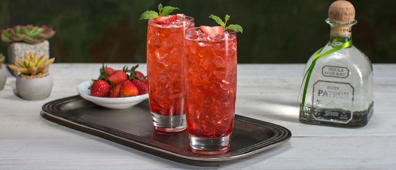 Summer Mule Cocktail Recipe Patr 243 N Tequila
