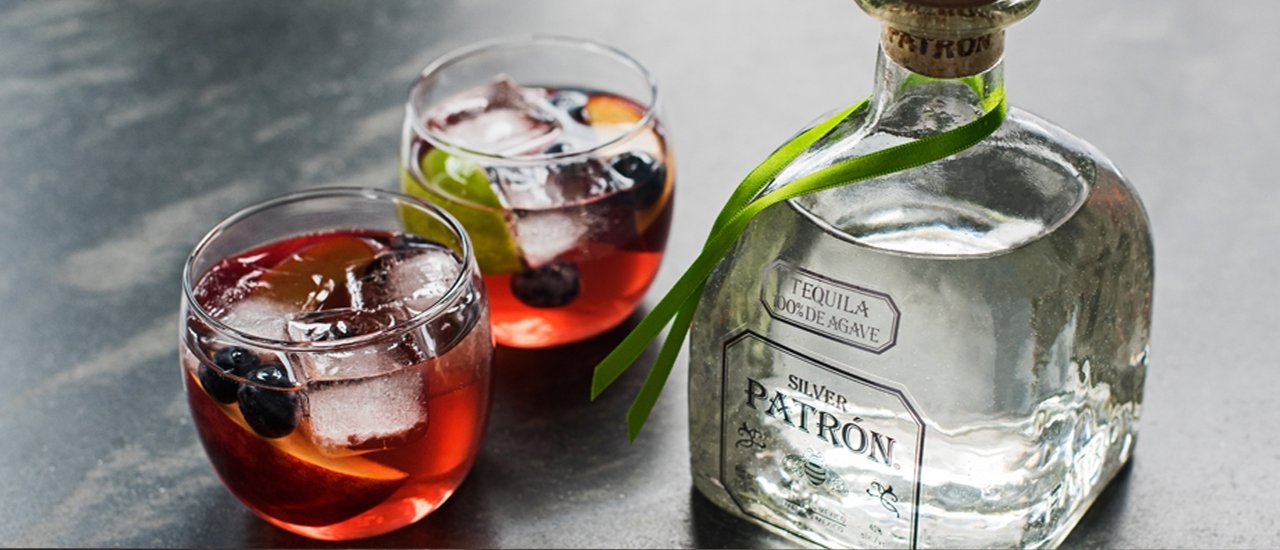 Patr 243 N Peach Sangria Cocktail Recipe Patr 243 N Tequila