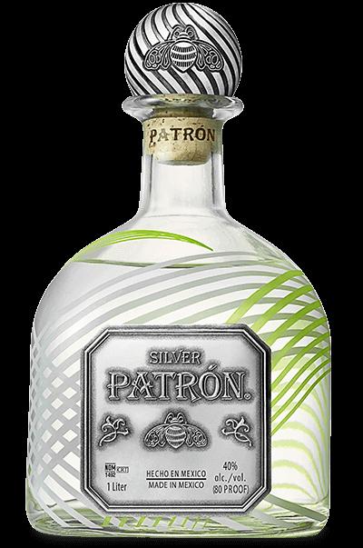 2018 limited edition patrón silver 1 liter patrón tequila