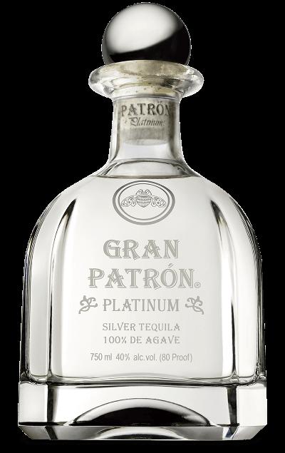 Gran Patrón Platinum bottle